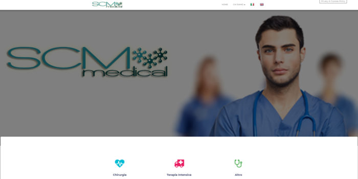 scmmedical Federico Drago Design